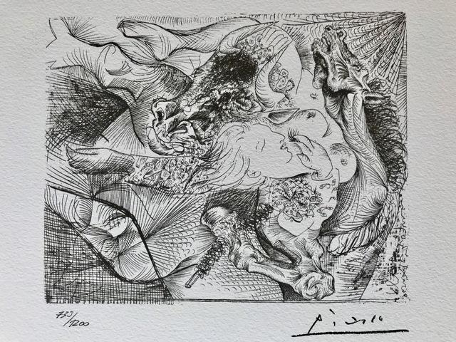 Pablo Picasso, 'Suite Vollard Planche XXIII', 1973, ByNewArt