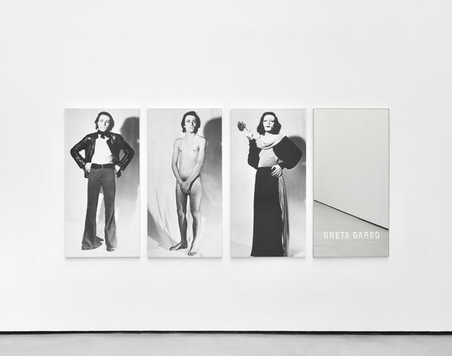 , 'Piège pour un travesti : Greta Garbo,' 1972, Galerie Christophe Gaillard