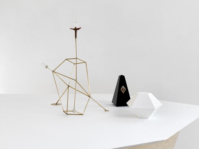 , 'Strahlkörper mit Metronom (Kristallogie),' 2015, Sies + Höke