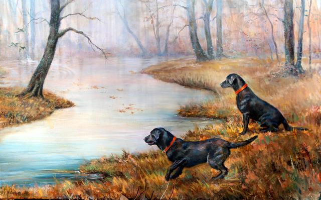 , 'A Second Too Late,' 2015, Dog & Horse Fine Art