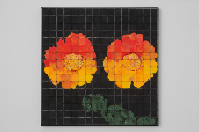 Rachel Lachowicz, 'Gerberas (Orange)', 2017, Shoshana Wayne Gallery