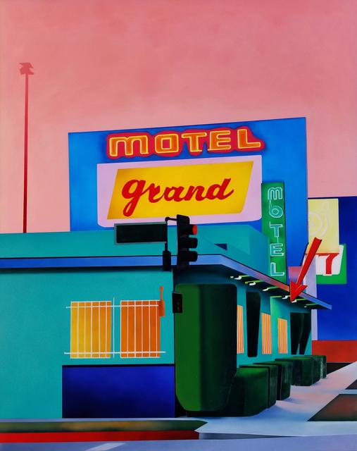 , 'Motel Grand,' 2018, Roman Fine Art