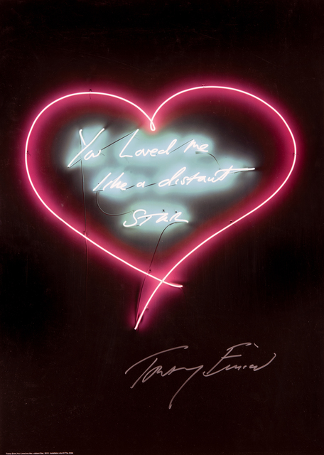 Tracey Emin, 'You Loved me Like A Distant Star', 2016, Tate Ward Auctions