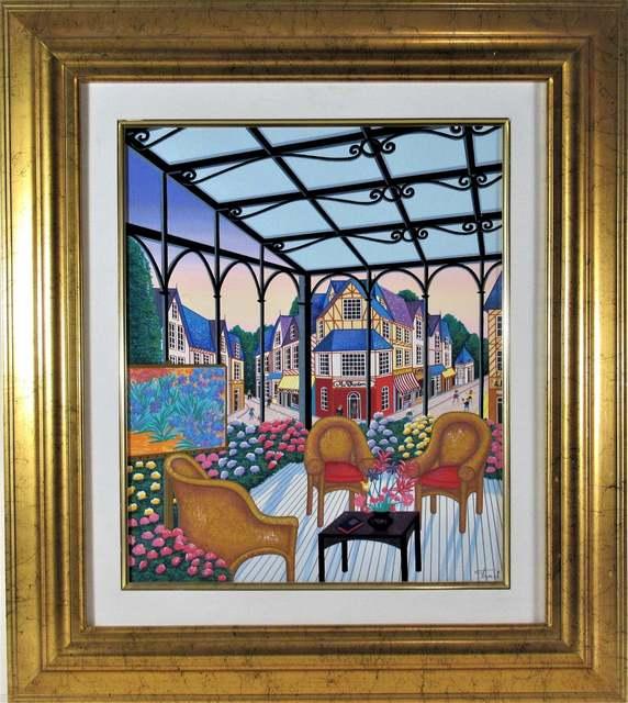 Fanch Ledan, 'Loggia a Dauville', ca. 1990, Joseph Grossman Fine Art Gallery
