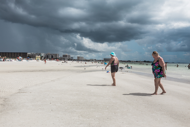 Deb Achak, 'Storm Clouds, Siesta Key Beach', 2017, Winston Wächter Fine Art