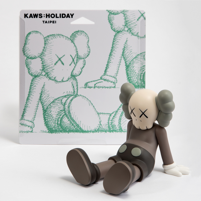 KAWS, 'Holiday (Brown)', 2019, Sculpture, Vinyl collectable, Tate Ward Auctions