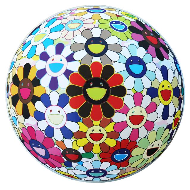 Takashi Murakami, 'Flower Ball (Lots of Colors) ', 2013, Art Works Paris Seoul Gallery