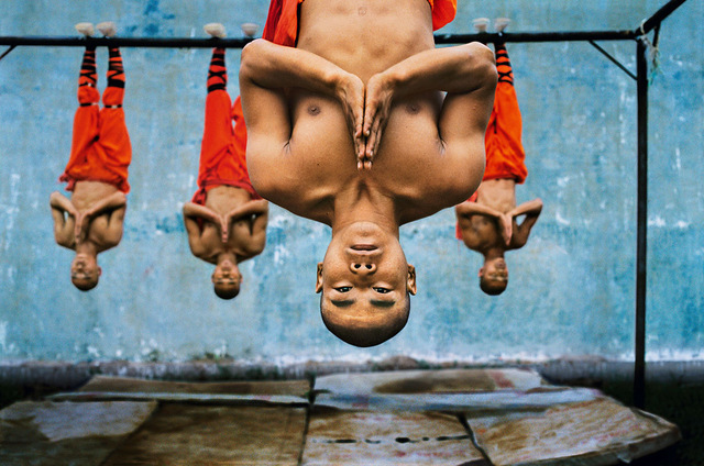, 'Shaolin Monks Training,' 2004, Cavalier Galleries