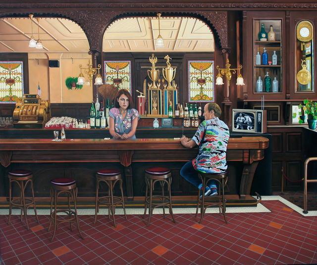 , 'Sheehan's Cafe,' 1982, Allan Stone Projects