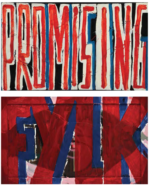 , 'Promissing - FYLK,' 1983, Galerie Emanuel Layr