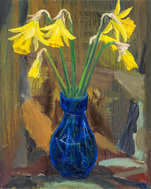 , 'Daffodils,' 2014, Oliver Sears Gallery