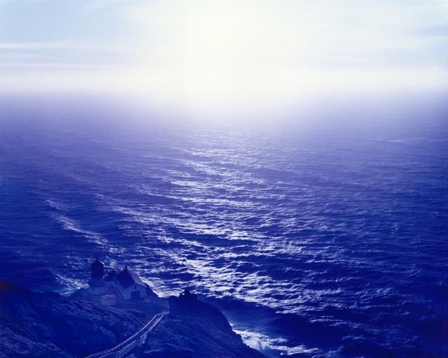 , 'Above Abyss, Blue Below, Point Reyes, California,' 2015, Moran Bondaroff
