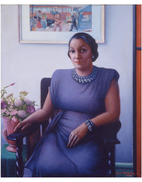 , 'Portrait of a Cultured Lady,' 1948, Michael Rosenfeld Gallery