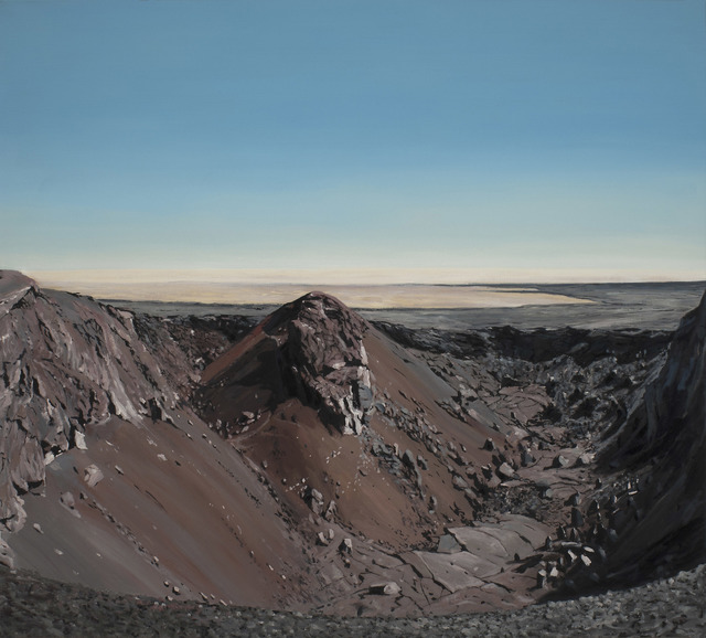, 'Lava Field Crater,' 2017, Russo Lee Gallery