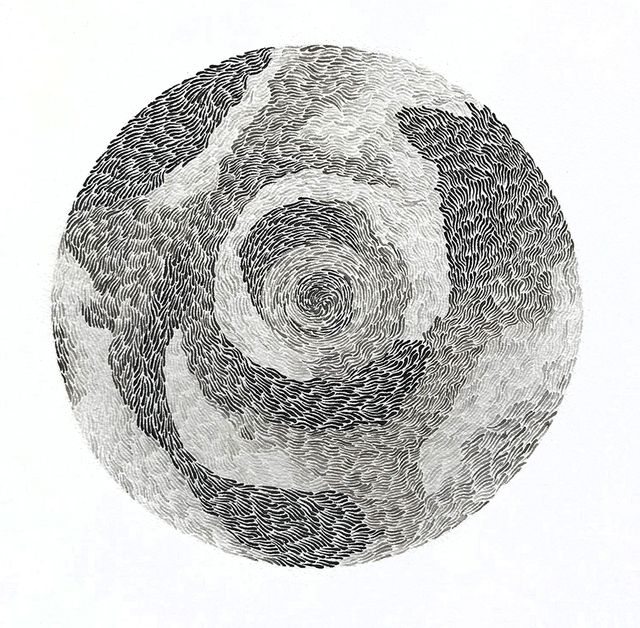 , 'Fur Ball I,' 2019, bo.lee gallery