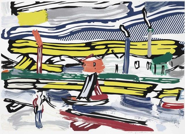 Roy Lichtenstein, 'The River, from Landscapes', 1985, Christie's