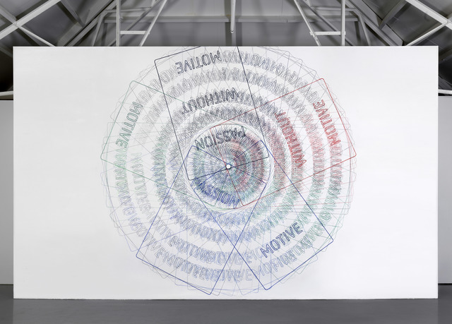 , 'Van een rechthoek naar een cirkel,' 2017, Galerie Fons Welters