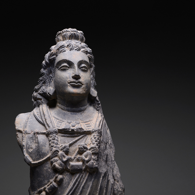 Gandharan Gandharan Schist Sculpture Of Buddha 200 500 Available For Sale Artsy