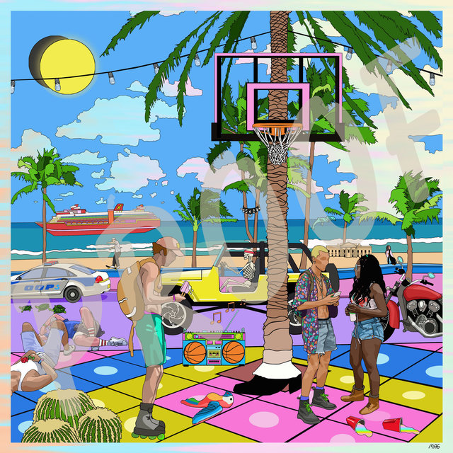 , 'Miami Nice,' 2017, HUE Gallery of Contemporary Art