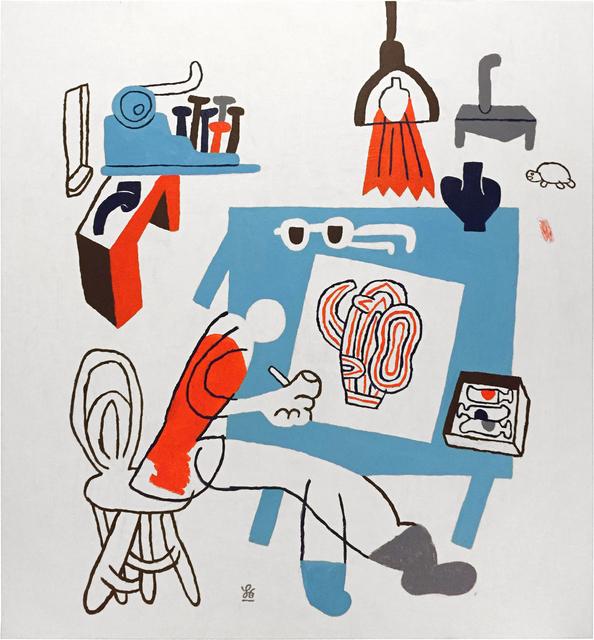 , 'Hans Scherfig,' 2017, V1 Gallery
