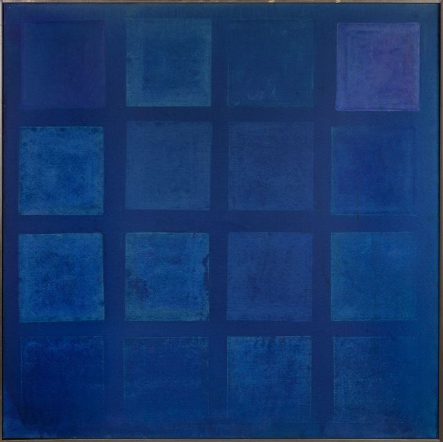 , 'Blue Painting I,' 1964, Berry Campbell Gallery