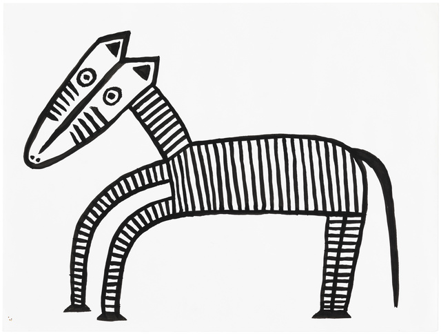 , 'Young Zebra,' undated, Gallery NAGA