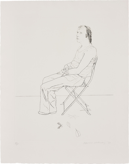 David Hockney, 'Mo with Five Leaves', 1971, Phillips
