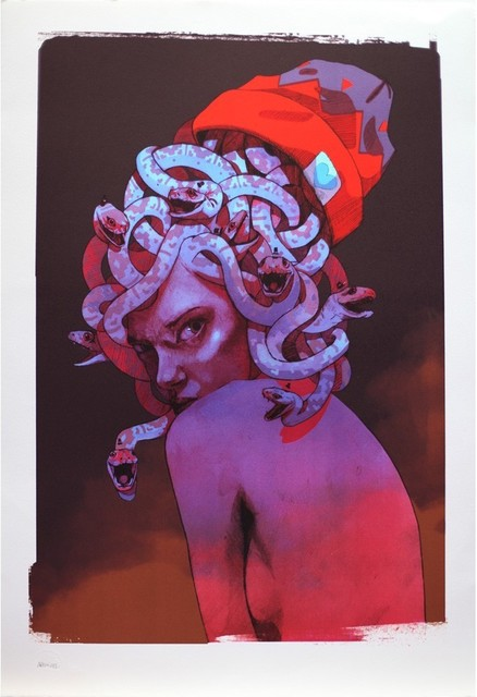 BEZT (Etam Cru), 'Medusa', 2014, Print Them All