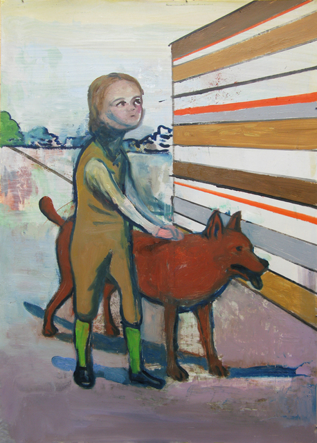 Stephanus Heidacker, 'Boy and Dog', 2012, TEW Galleries