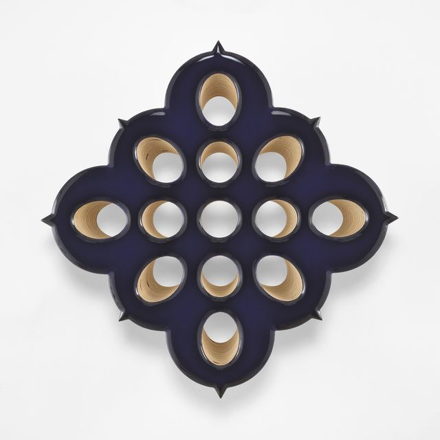 , 'Lot 021417 (the hard spore, aubergine),' 2017, Marianne Boesky Gallery
