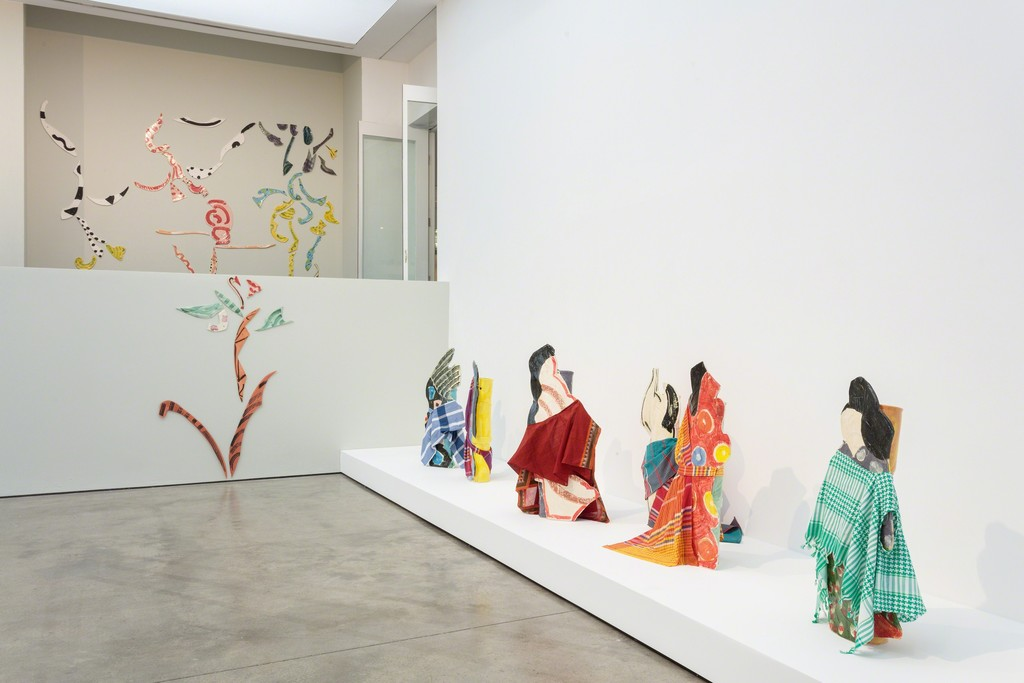 Installation view of Betty Woodman: Theatre of the Domestic 3 February 2016 – 10 April 2016 Institute of Contemporary Arts London (ICA) Photo: Mark Blower