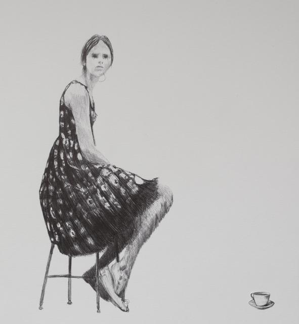 , 'Waiting,' 2018, Beatriz Esguerra Art