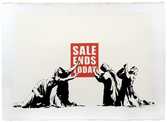 Banksy, 'Sale Ends', 2006, Print, Screenprint in colors on paper, ArtLife Gallery