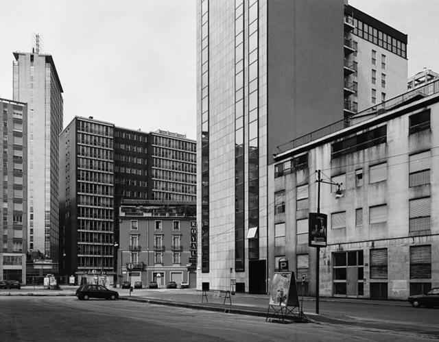 Thomas Struth, 'Via Emilio Cornalia (Mit Hochhaus), Milano', 1992, Monica De Cardenas