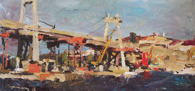 , 'Kiev Construction,' 2008, Paul Scott Gallery & galleryrussia.com