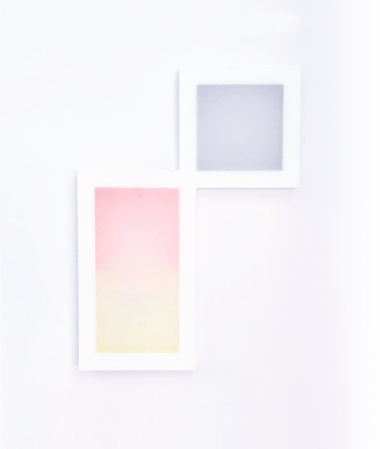 Patric Sandri, 'Untitled (Composition with 3 Squares and 3 Colours)', 2017, Galerie Lisa Kandlhofer