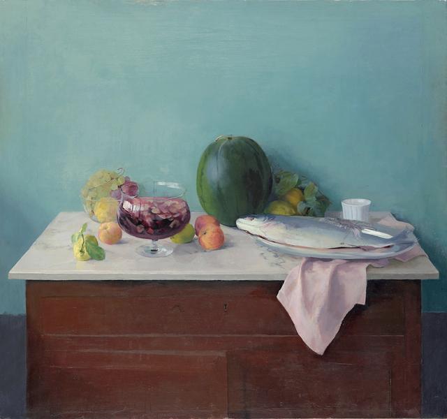 , 'Naturaleza Muerta de la Sandía (Still life of a Watermelon),' 1990, Museo Thyssen-Bornemisza