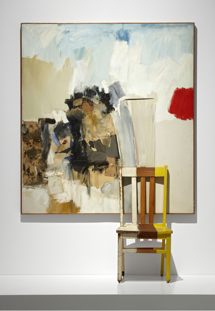 Robert Rauschenberg, 'Peregrino', 1960, Mixed Media, Chair and painting combined on canvas, Museo Reina Sofía