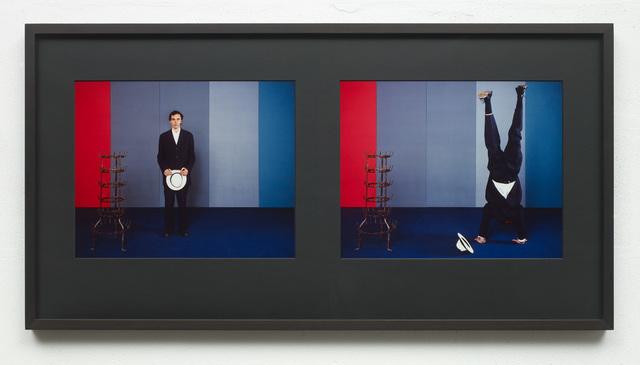 Jan Vercruysse, 'Grande Camera Oscura (A Man with a Straw Hat III)', 2002, Vistamare/Vistamarestudio