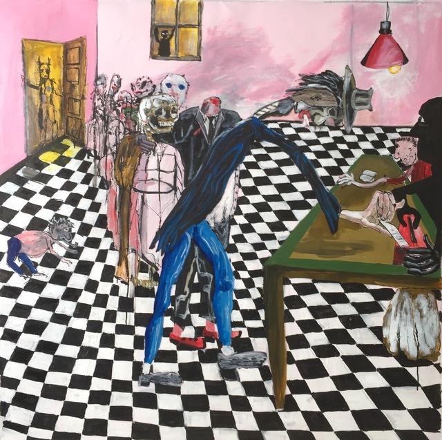 , 'Electors,' 2016, The Lionheart Gallery