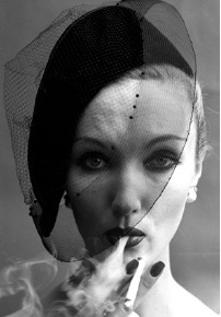 , 'Smoke + Veil 2, Paris (Vogue), 1958,' , Polka Galerie