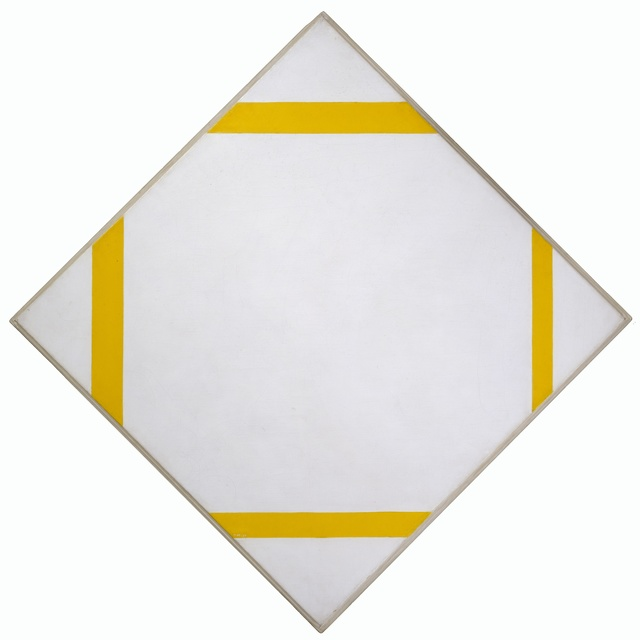 , 'Lozenge Composition with Four Yellow Lines,' 1933, Turner Contemporary
