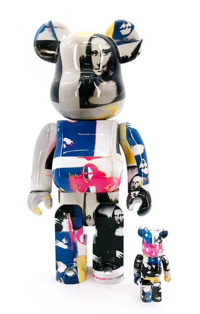 Andy Warhol, 'Andy Warhol Bearbrick 400% Companion (Warhol Mona Lisa BE@RBRICK)', 2019, Ephemera or Merchandise, Painted vinyl cast resin, Lot 180