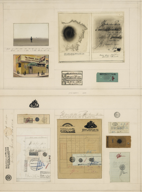 Saul Steinberg, 'Park Avenue Documents', 1969, TOTAH