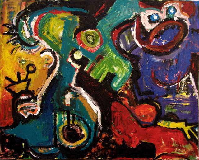 , 'Shout,' 2010, Galerie Claire Corcia