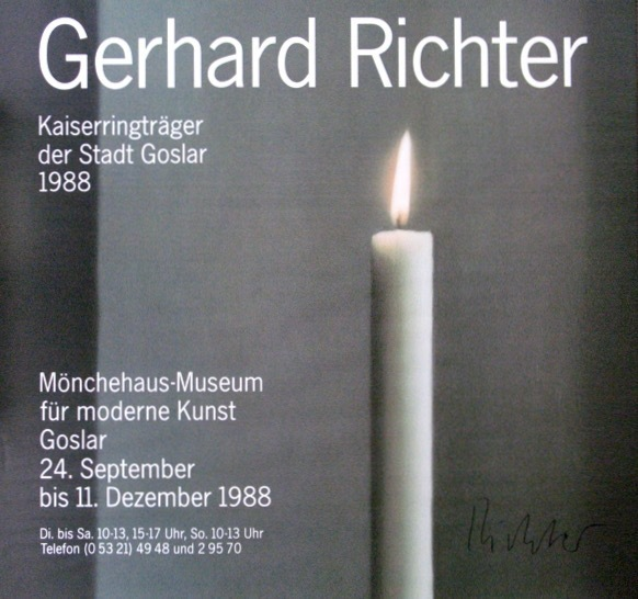 Gerhard Richter, 'Der Kerze/The Candle', 1988, Bengtsson Fine Art