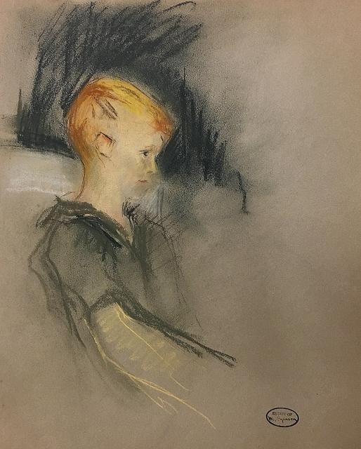 , 'Study of a Boy,' ca. 1930, Lawrence Fine Art