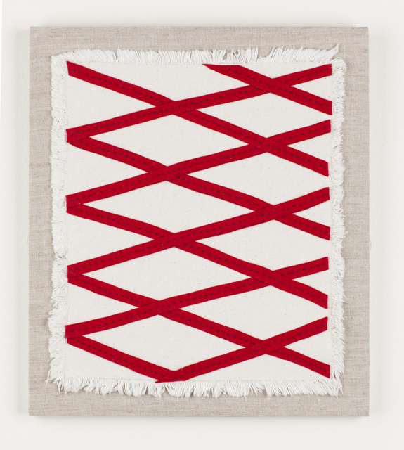 , 'Red Harlequin No. 1,' 2016, Carrie Secrist Gallery