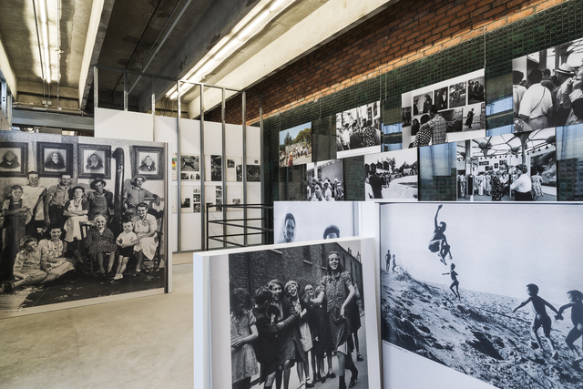 ", 'Installation view of ""Face-to-Face: The American National Exhibition in Moscow, 1959/2015"",' 2015, Garage Museum of Contemporary Art"