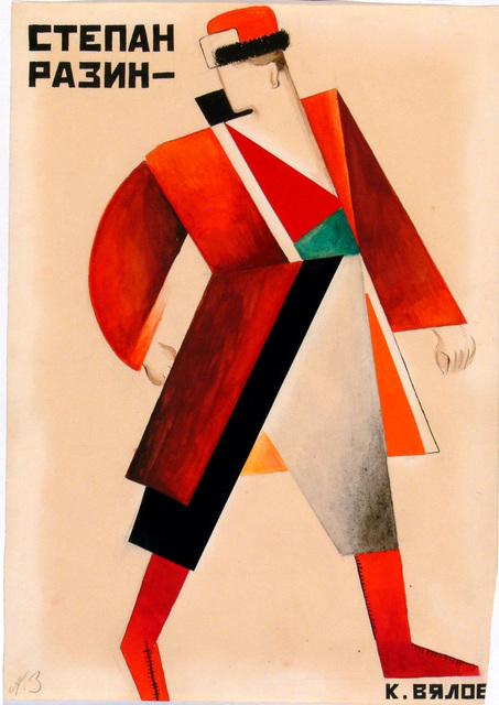 , 'Costume design for Sten'ka-Razi,' 1923, Victoria and Albert Museum (V&A)